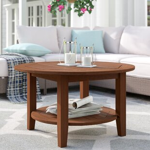 Dowling Wooden Coffee Table by Three Posts Spacial Price