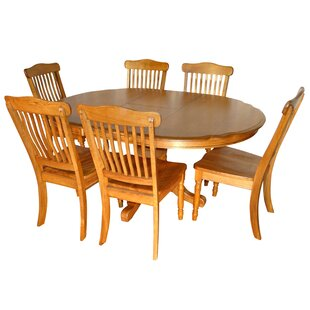 Sapphire 7 Piece Extendable Dining Set August Grove