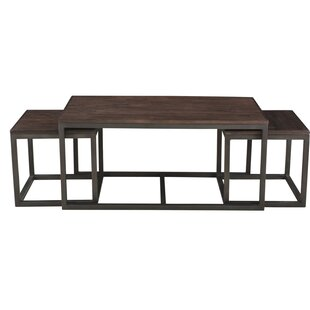 Clare Nesting 3 Piece Coffee Table Set