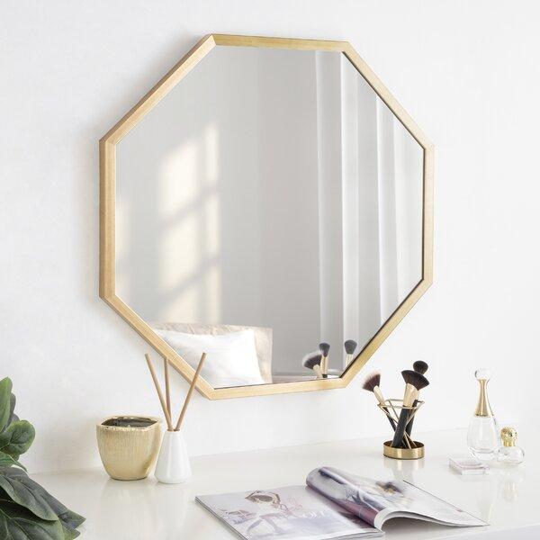 Gold Octagon Mirror Wayfair Ca
