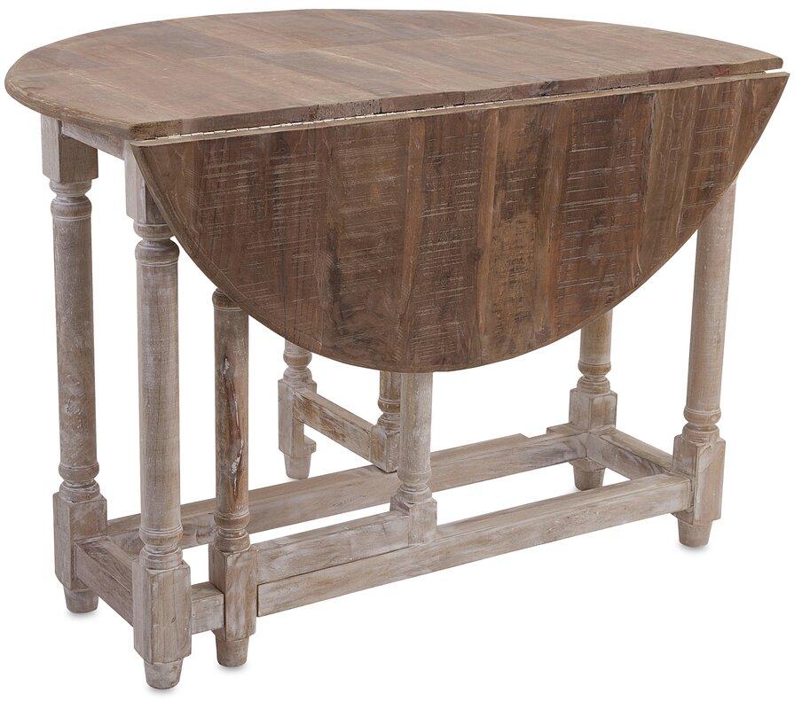 Larue Drop Leaf Extendable Dining Table