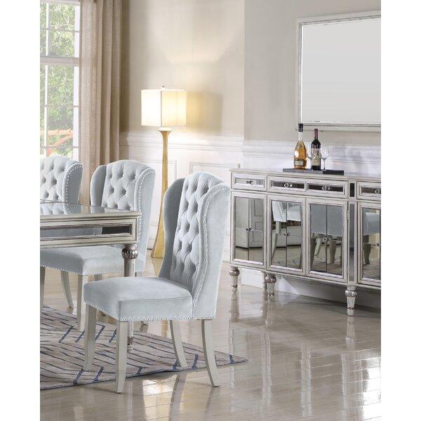 Tall Wingback Dining Chair | Wayfair