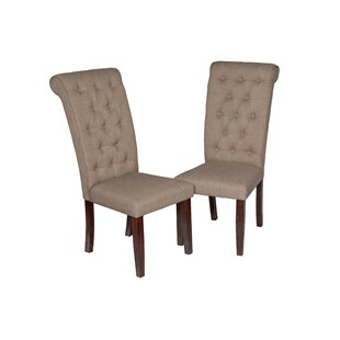 Al Upholstered Dining Chair (Set Of 2) by Gracie Oaks Amazing