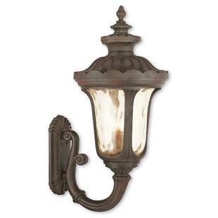 Best Gurnee 4-Light Outdoor Metal Wall Lantern By Three Posts