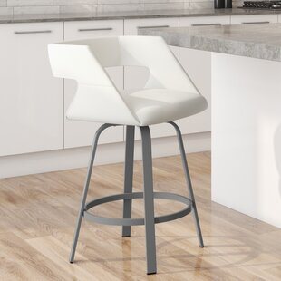 Seaton 26 Swivel Bar Stool Orren Ellis