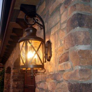 Three Posts Fairbury Outdoor Wall Lantern