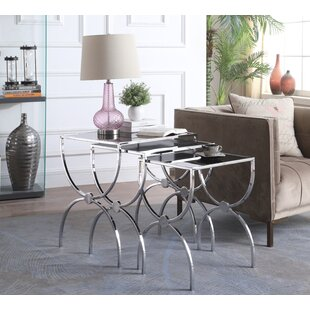 Everly Quinn Laforce 3 Piece Nesting Tables