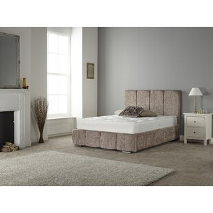 Review Cortes Upholstered Bed Frame
