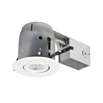 globe electric company 4 recessed lighting kit wayfair