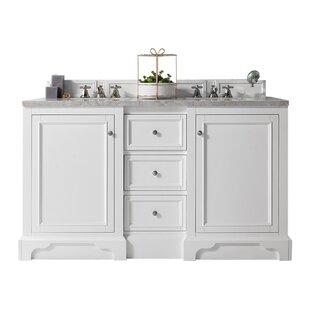 De Soto 61 Double Bathroom Vanity Base by James Martin Furniture
