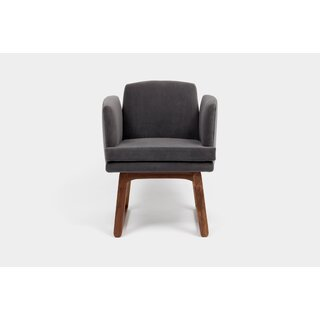 Allison Sled Base Upholstered Dining Chair by ARTLESS SKU:EC752678 Details