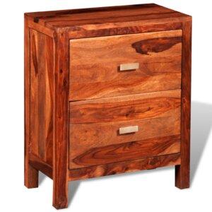 Nachttisch mit 2 Schubladen von dCor design