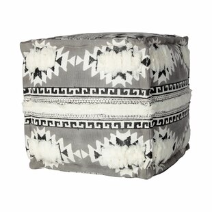 Caylor Tufted Pouf by Union Rustic