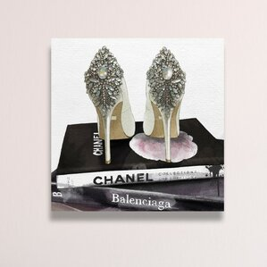 My Trophies Canvas Print, Oliver Gal