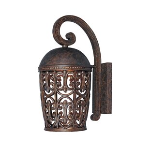 Price comparison Claverack 1-Light Outdoor Wall Lantern By Fleur De Lis Living