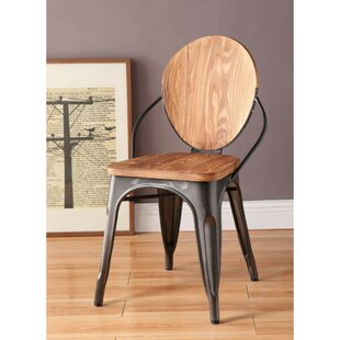 Rayna Oval Backrest Dining Chair (Set of 2) by 17 Stories