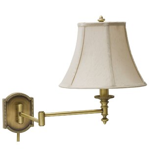 Alcott Hill Isla Decorative Bead Swing Arm Lamp