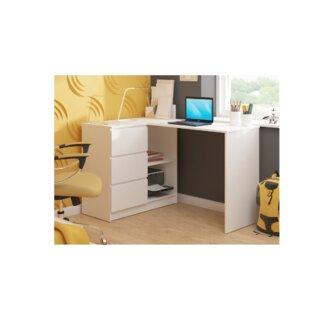 Hobkirk L-Shape Desk By Ebern Designs