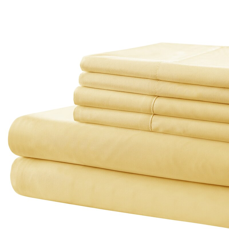 Country Living Vintage Washed Solid Sheet Set Wayfair