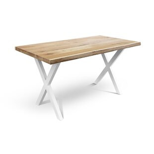 Becnel Solid Wood Dining Table Foundry Select