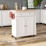 Ferraro Kitchen Cart by Alcott Hill®