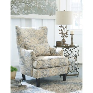 Savings Beckmann Wingback Chair by Darby Home Co Reviews (2019) & Buyer's Guide