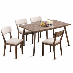 Eatmon 5 Piece Dining Set George Oliver