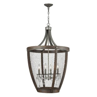 Gracie Oaks Shaili Basket 4-Light Pendant