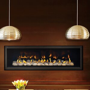 Direct Vent 5th Avenue Linear Wall Mount Fireplace by Napoleon