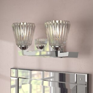 Compare & Buy Lacour 2-Light Vanity Light By Lark Manor