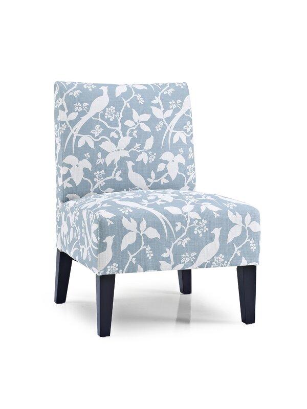 Gerace Slipper Chair #slipperchair #blue