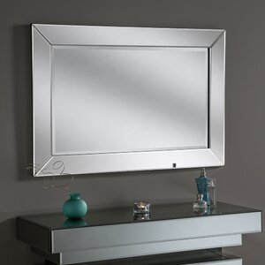 Beveled Contemporary Wall Mirror