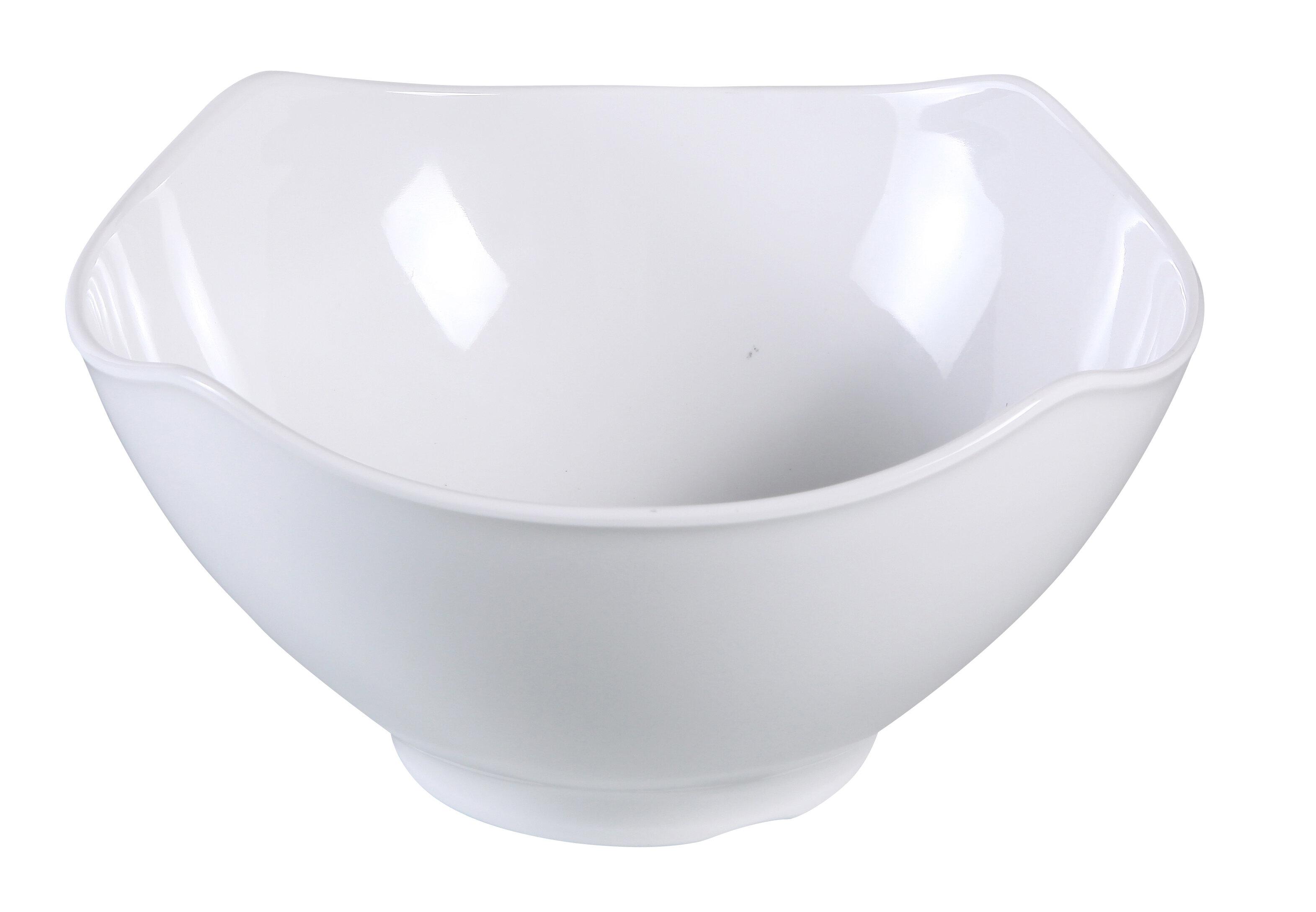 Darby Home Co Sedbergh 30 Oz Square Melamine Salad Bowl Wayfair