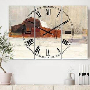 Scenic Wall Clocks You Ll Love In 2021 Wayfair