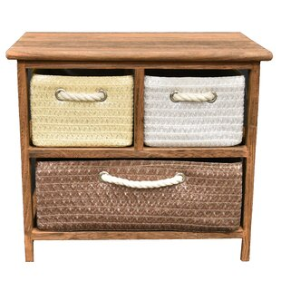 Edisto 3 Drawer Accent Chest by Winston Porter