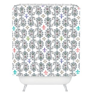 Andi Bird Paisley Ornamental Single Shower Curtain
