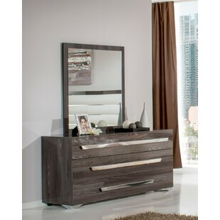 Sommerset 3 Drawer Dresser with Mirror