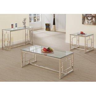 Willa Arlo Interiors Danberry 3 Piece Coffee Table Set