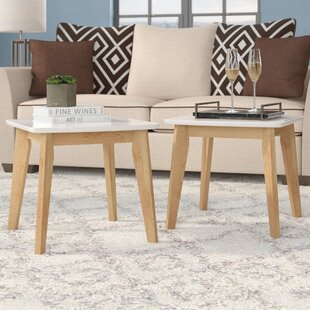 Madeleine Modern End Table (Set of 2)