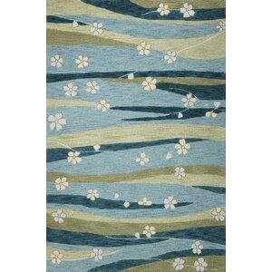 Pangkal Pinang Blue Springtime Rug