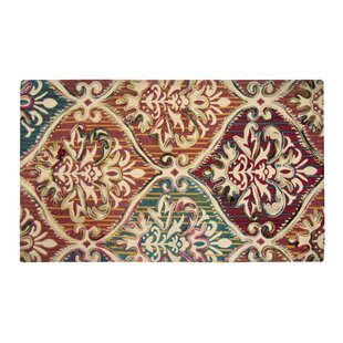 Look for Faircloth Brown/Green Area Rug By Charlton Home