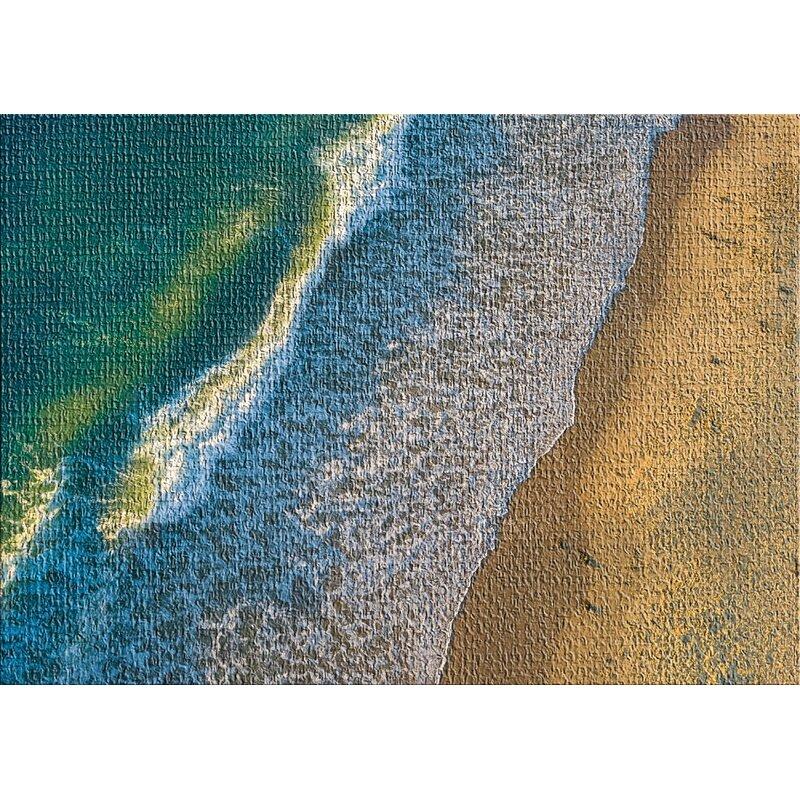 East Urban Home Aerial Shots From An Airplane 45 Blue Area Rug Wayfair