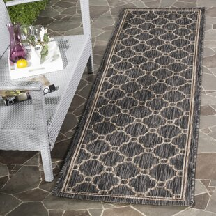 Rockbridge Natural/Black Indoor/Outdoor Area Rug