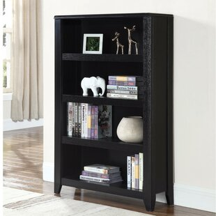 Holgate Transitional Wooden Standard Bookcase