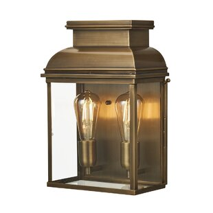 Gretel 2-Light LED Outdoor Flush Mount by..