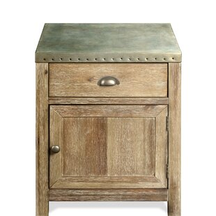 Hardy End Table by Gracie Oaks