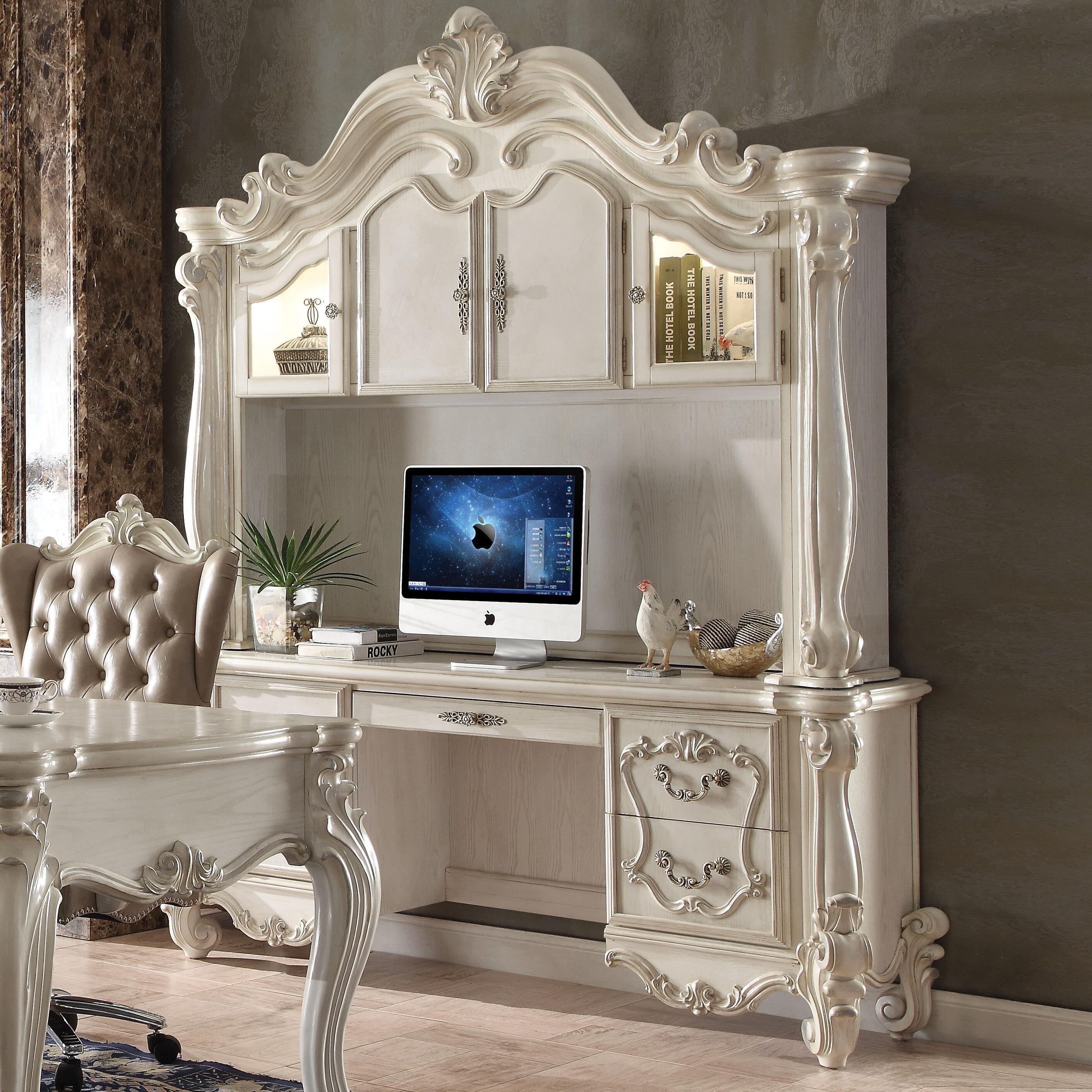 Merveilleux Astoria Grand Welton Executive Desk With Hutch | Wayfair