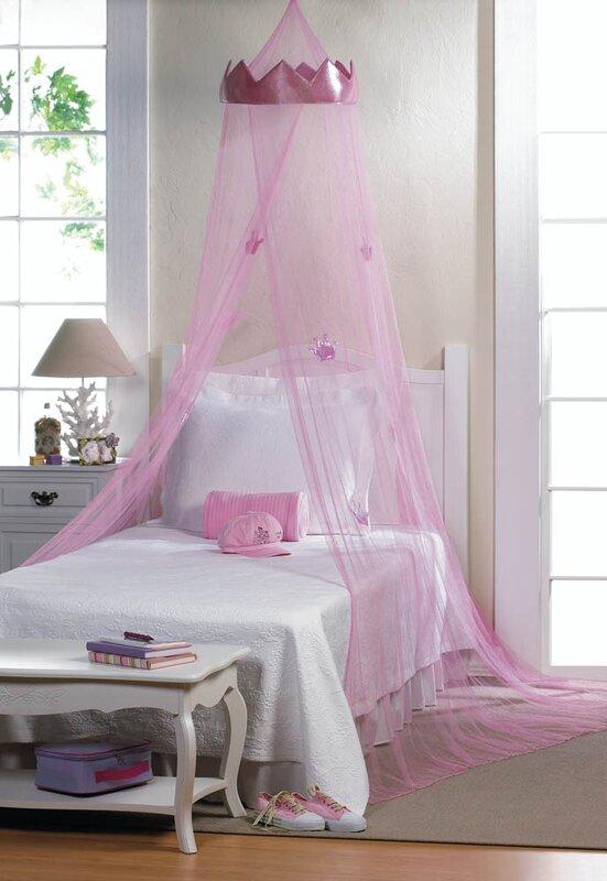 Remy Princess Bed Canopy & Viv + Rae Remy Princess Bed Canopy u0026 Reviews | Wayfair
