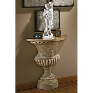 Garden of Versailles Wall Urn Console Table ByDesign Toscano