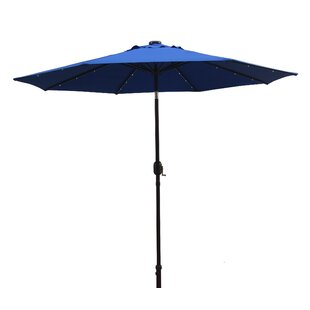 Kittrell Solar 9' Market Umbrella